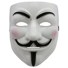 Halloween Fawkes Maske V Guy Wie For Vendetta Mask Cosplay Party Mask High Quality 1 PCS