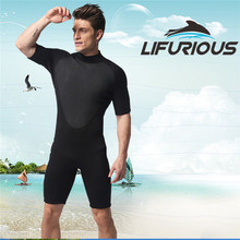 LIFURIOUS Neoprene Wetsuits 3mm One-piece Short Pants Diving Wetsuit Diving Suit Surf Waterproof Men Beach Clothes Spearfishing