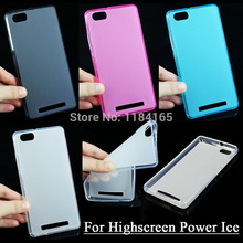 for Highscreen Power Ice Transparent Pudding TPU Case Soft Skin Gel Durable Phone Back Cover