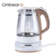 Cmbear Intelligent Thermostatic 1.2L Double Anti-Scald LED BPA Free Warmer Milk Modulator(China)