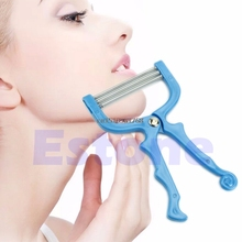1Pc Safe Handheld Face Facial Hair Removal Threading Beauty Epilator Epi Roller #Y05# #C05#(China)
