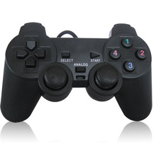USB Wired PC Game Controller Gamepad Shock Vibration Joystick Game Pad Joypad Control for PC Computer Laptop Gaming Play(China)