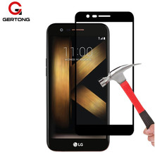 Buy GerTong 9H Full Cover Toughened Tempered Glass LG K10 2017 K8 2016 G6 K 10 8 Screen Protector Protection Glass Case Film for $1.04 in AliExpress store