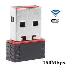 New Black Mini 150Mbps USB2.0 WiFi Wireless Network Lan Card Wireless Adapter 802.11n/g/b C26