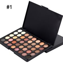 Hot Women Beauty Eye Shadow Palette + Brush Long Lasting Cosmetic Eye Shadow Makeup Set