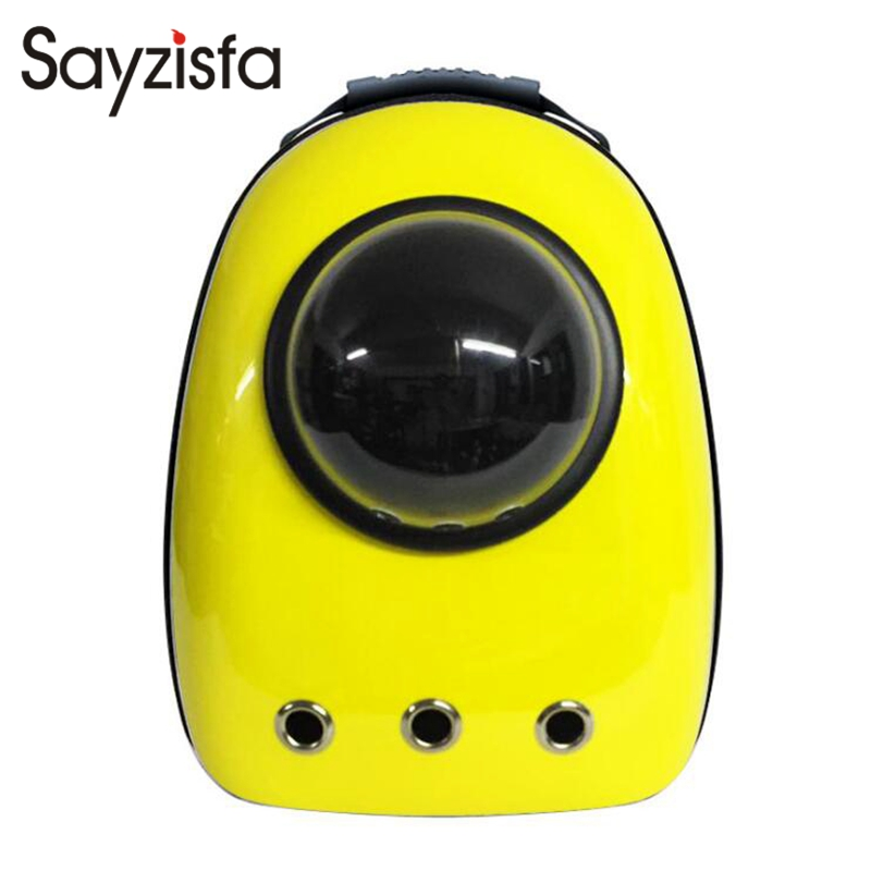 Pet Space Bag Hot Sale Capsule Shaped Pet Carrier Breathable backpack for dog cat outside Travel Portable Bag Pet Supplies T573<br>