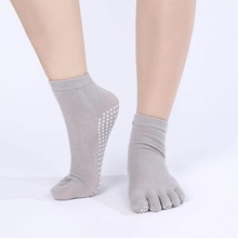 Hot Sale Charm Women Yoga Socks Non-slip Massage Rubber Fitness Warm Socks Gym Dance Sport Exercise Barefoot Feel One Size