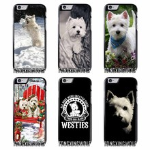 Westie dog Cover Case for Samsung A3 A5 A7 2015 2016 2017 Sony Z1 Z2 Z3 Z5 Compact X XA XZ Performance(China)