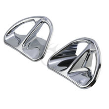 Chrome Fairing Air Intake Accents For Honda GL1800 Gold Wing Airbag ABS Audio(China)