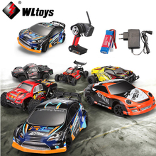 1 set Wltoys 1:24 RC CAR A202 A212 A222 A232 A242 A252 2.4G 4WD remote control mosquito drift rally CAR toy gifts(China)