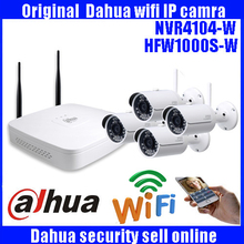 DAHUA 4ch 720p NVR Kit 720P Outdoor IP Camera System P2P Cloud 4ch 720p NVR System Onvif 2.0 Easy Access Supports PC&Mobile View(China)