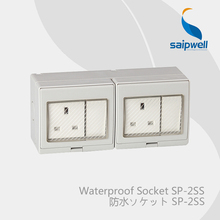 Saipwell Electrical Equipment & Supplies electric waterproof switch and socket IP55 British Standard (SP-2SS)(China)