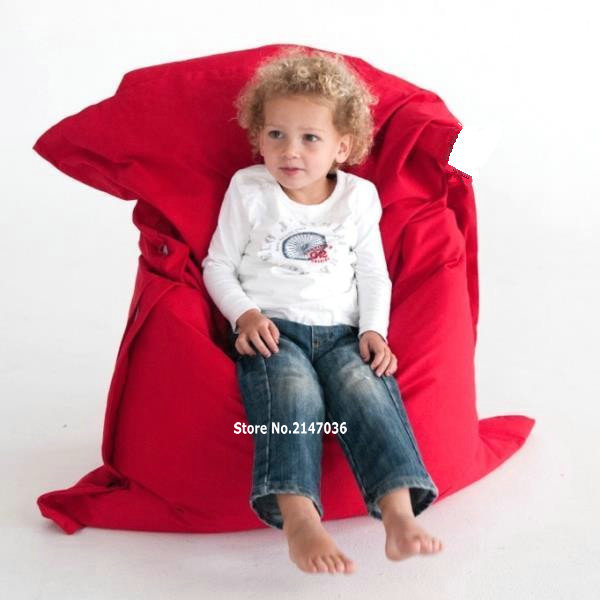 red children bean bag chair , outdoor use furniture<br>