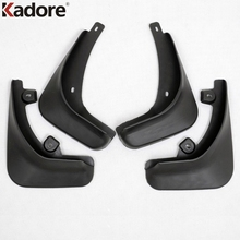 Mudguards Fit For Skoda Superb 2009 2010 Car Mud Flaps Splash Guard Cover Mudguard Car Fenders Splasher Mudflap Dirt Guards