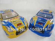 Ewellsold 028 1/10 Scale On-Road Drift Car Painted PVC Body Shell 190MM for 1/10 Radio controlled car 2pcs/lot free shipping