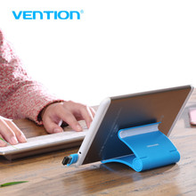 Vention Adjustable Foldable Cell Phone Tablet Desk Stand Holder Smartphone Mobile Phone Bracket for iPad Samsung iPhone(China)