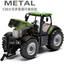 Big Size Engineering Truck Farm Tractor Bulldozer Model High Quality Alloy Bulldozer Toys For Kids