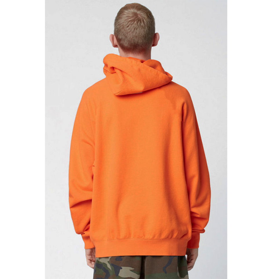 17 fashion color orange hooides men's thick clothes winter sweatshirts men Hip Hop Streetwear solid fleece hoody man Clothing 10