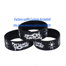 1 PC Retail Wholesale My Chemical Romance Silicone Wristband MCR Bracelet Gift
