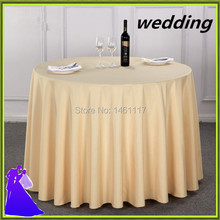 Big discounts!! 20pcs 90 inch polyester table cloth hotel wedding table cloth from China high quality free shipping