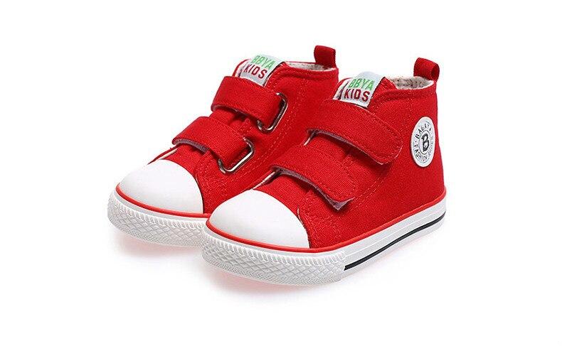 Enfants chaussures pour fille enfants toile chaussures garçons 52