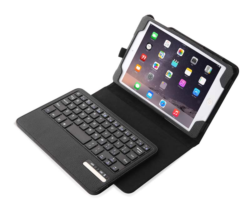 Ultra Slim Russian Detachable Wireless Bluetooth Keyboard &amp; Leather Cover Case For Apple ipad mini 4 Mini4 4Gen 7.9 inch Tablet<br>