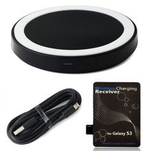 CARPRIE High Recommend 1Set Qi Wireless Power Charger+Receiver Kit For Samsung Galaxy S3 III i9300 portable quick charger(China)