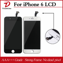 Black White Color LCD Display Touch Screen Replacement LCD For iPhone 6 AAA+++ Quality No Dead Pixel Fast Shipping