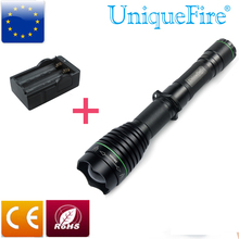 Brightest LED Tactical Flashlight UniqueFire UF-1508 T38 Cree XML2 Led Light Water Resistant Torch With Adjustable Focus+Charger