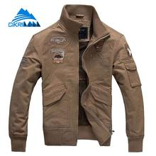 New Stand Collar Outdoor Sport Camping Hiking Jacket Men Fishing Coat Windbreaker Army Combat Military Tactical Chaqueta Hombre