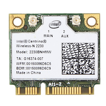 Wireless Adapter Card for intel 2230BNHMW 2230 802.11b/g/n Bluetooth 4.0 Mini PCI E Wireless Card for dell acer asus