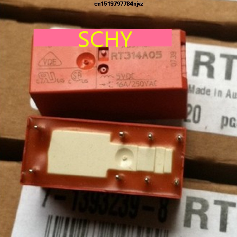 RT314F03 Relay electromagnetic SPDT Ucoil 3VDC 16A//250VAC 16A//24VDC