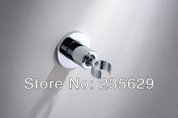 Free Shipping, Brass Material Shower bracket, Bathroom Accessories, Chrome Plated, 360 Angle Operation,335g<br>
