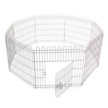 Best Pet Play Pen Puppy Dog Cat Rabbit Pig Guinea Playpen Run Cage Fence Enclosures(China)