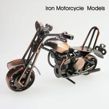 1pc Mini Metal Model Motorcycles Vintage Home Decor Iron Motorbike Models Boys Toys Kids Gifts Home Decoration Accessories A35