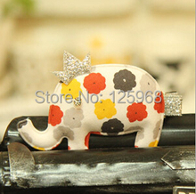 Free Shipping!2014 New Girls Crown+ Animal Elephant Hair Clip Kids Hair Accessories Hairclip Wholesale Children Hairgrips