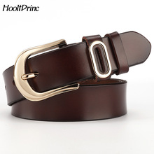 Buy HooltPrinc New Designer Fashion Women's Belts Genuine Leather Brand Straps Female Waistband Pin Buckles Fancy Vintage Jeans for $9.87 in AliExpress store