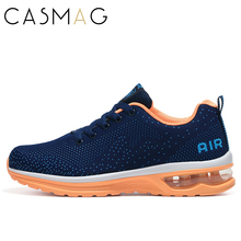 CASMAG Brand New Air Cushion Men Athletic Outdoor Walking Sport Shoes Women Running Shoes Size 36-44