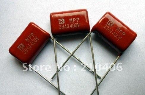mpp 0.39uf 394j 400v metallized polypropylene film capacitor<br><br>Aliexpress