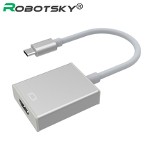 New USB 3.1 Type C USB-C to HDMI HDTV Adapter Cable 1080p for Apple MacBook Chromebook