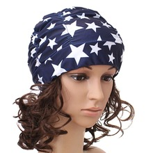 Sexy Lady Womens Girls Long Hair Swim Cap Stretch Hat Drape Bathing Swimming Cap