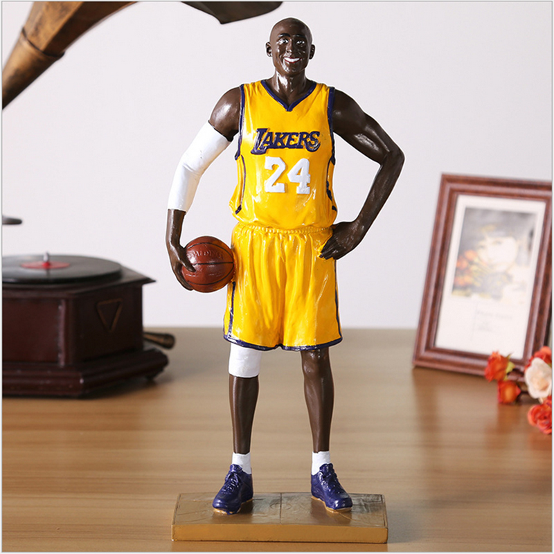 2017 Hot Sale Fancy Doll 33cm NBA  Kobe Bryant   Figure Resin Bobble  Head Figure Doll Toy Collectible Model Toy   free shipping<br><br>Aliexpress