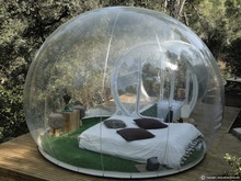Hot transparent inflatable lawn bubble tent, bubble tree inflatable camping tent camping equipment inflatable beach tent