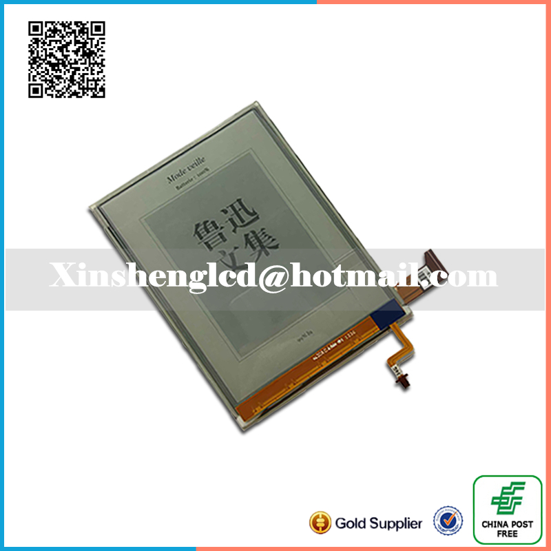 100% original 6 HD E-INK lcd screen With backlight for ONYX BOOX i63SML E-book readers LCD display<br>