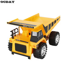 Buy OCDAY RC Trucks Bulldozer Charging Dump-car Remote Control Truck Model Construction Engineering Vehicle Toys Children Gift for $15.89 in AliExpress store