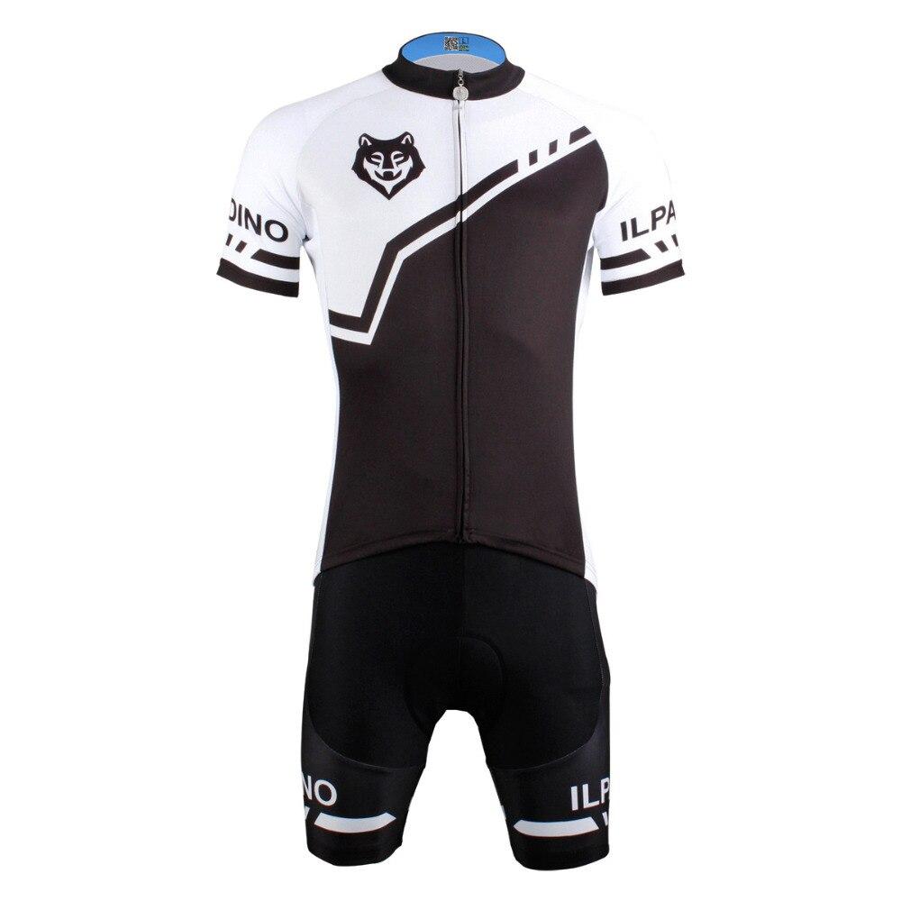 Men Cycling Jersey Wolf Cycling Clothing Men Short Sleeve Cycling Jersey Cycling Sets X622<br>