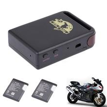 New Arrival TK102 GPS/GSM/GPRS Tracker Car Vehicle Mini Tracking Device + 2 Battery(China)