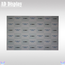 12ft Premium Straight Pop Up Banner Advertising Display Frame With One Side Printing,Exhibition Pop Up Wall(Include End Cap)(China)