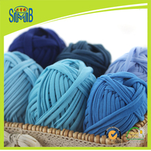 10X100g pack Jingxing, China hand crochet yarn manufacturer smb hot sell popular OEKO TEX quality, T shirt yarn spaghetti yarn(China)