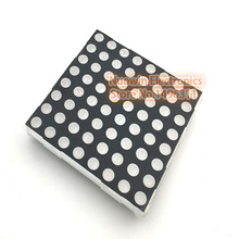 60mm Square 8*8 Red Color 5mm LED Common Anode Matrix Screen - Super Bright 60mm*60mm led matrix(China)